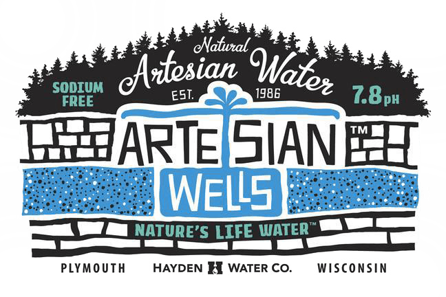 artesian wells of plymouth wisconsin logo