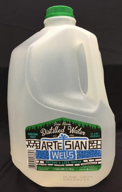 Distilled 1-Gallon Bottle